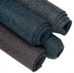 Gumové pásy z černého  recyklátu SBR