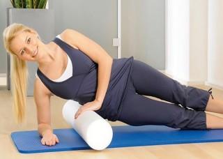 Fitness válec k rehabilitaci i posilování
