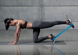 Cvičení s odporovou gumou