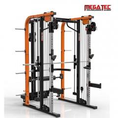 MegaTec; posilovací stroj Power Rack a Multipress