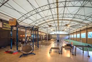 Rekonstrukce sportovního areálu Domyno