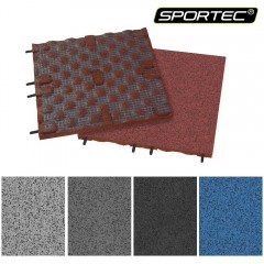 Podlaha SPORTEC STYLE PURCOLOR tl.30 mm, 85% EPDM